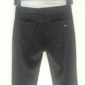 rag & bone Jeans - RAG & BONE Black Legging Skinny Jeans Sz 26